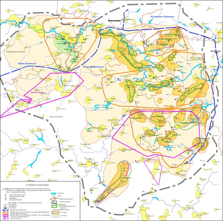 Модель Подольского района